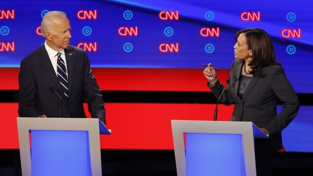 Democrats fight over health care, immigration at Detroit debate