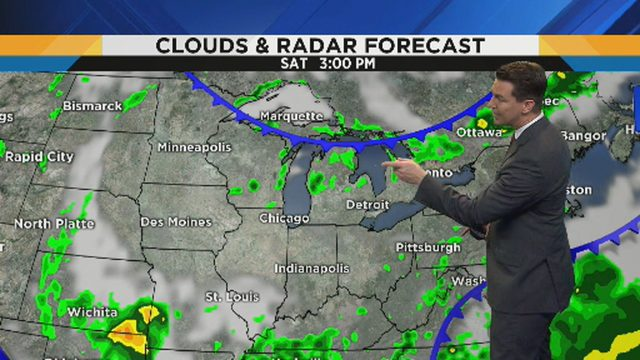Metro Detroit weather: Sunny and dry with low humidity through this weekend