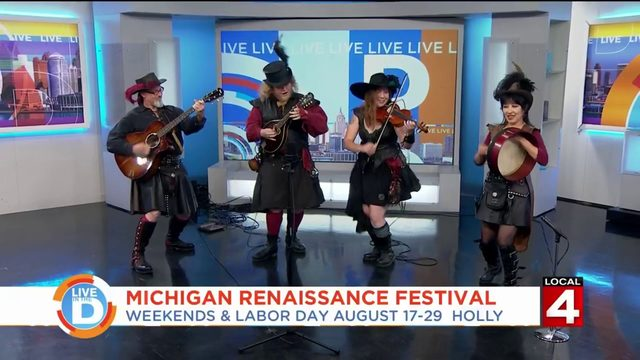 Go back in time and have fun at the Michigan Renaissance Festival in Holly