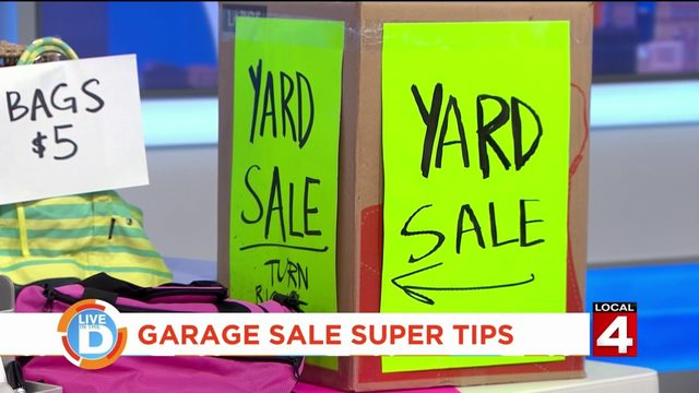 Here's how to have a successful garage sale