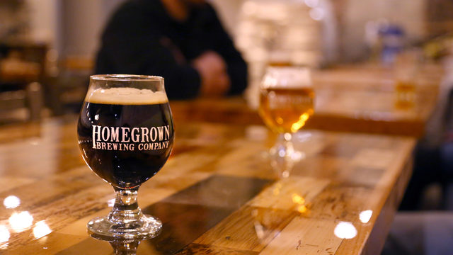 Homegrown Brewing Co. raises a glass to local beer makers after Vote 4…