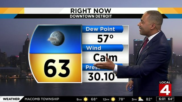 Metro Detroit weather forecast: Hot Saturday with low humidity