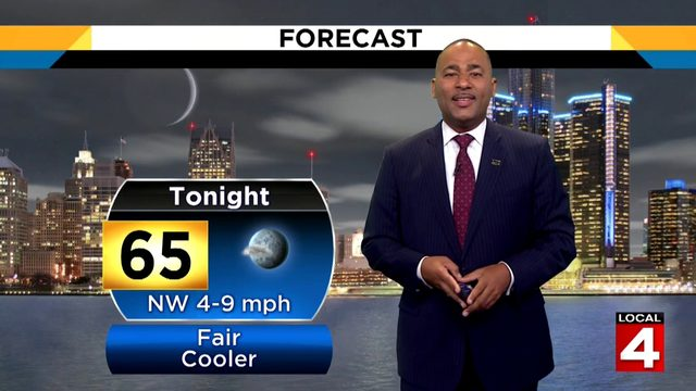 Metro Detroit weather forecast: Very warm, sunny Saturday afternoon