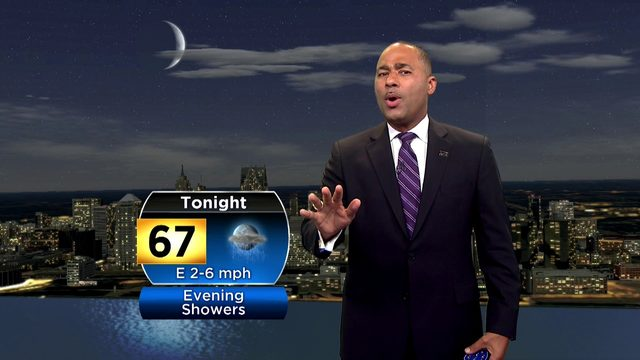 Metro Detroit weather: Warm with Sunday evening showers