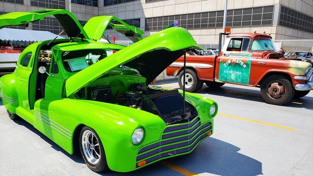 Caden's Car Show brings smiles to patients at C.S. Mott Children's…
