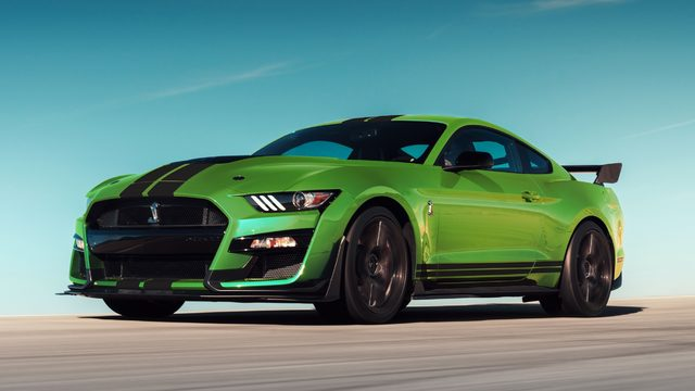 Ford shows most powerful street-legal Mustang ever built