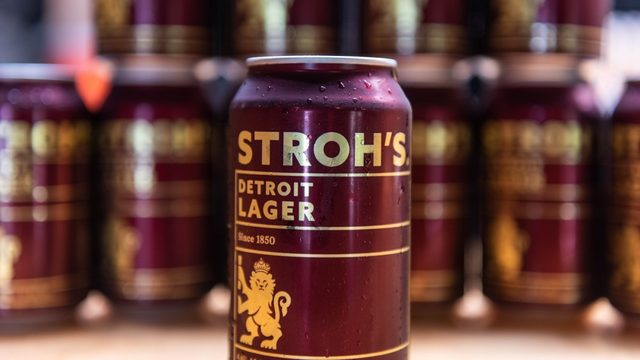 Stroh's launches Detroit-made beer
