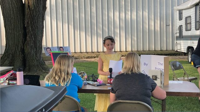 Local 4 fan wins blue ribbon in Monroe's 4-H storytelling competition