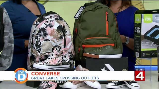 Prepare to go back to school with Great Lakes Crossing Outlets in Auburn Hills