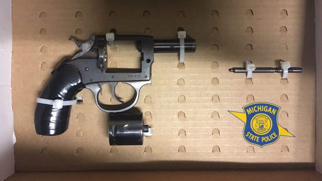 Pickup passenger found with loaded revolver during Highland Park traffic…