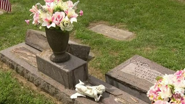 Children's graves among those vandalized at South Lyon cemetery