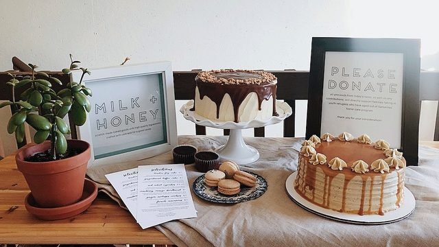 Ann Arbor-based Milk + Honey creates cakes, pastries for good cause