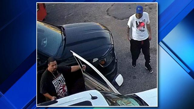 Video: Detroit police seek two men in carjacking, armed robbery
