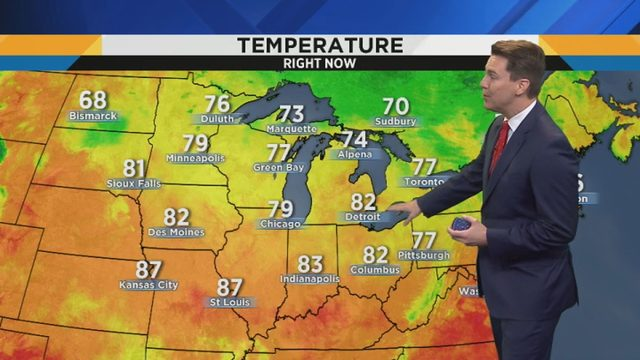 Metro Detroit weather: Spectacular weekend forecast with sunshine, low humidity