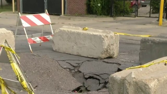 Help Me Hank: Residents on Detroit's east side dodge dangerous sinkhole