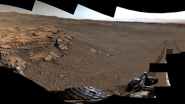 Spectacular new image from Mars rover