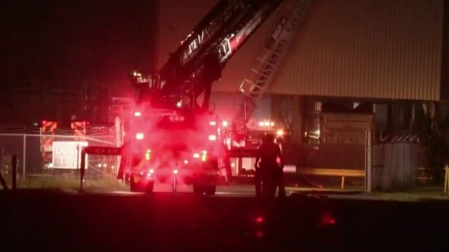Crews battle fire for hours at automotive supplier in Sterling Heights