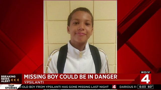 Missing Ypsilanti boy could be in danger, police say