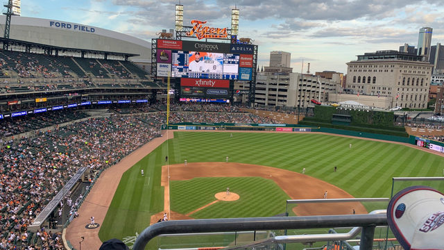Jamie Edmonds: A beautiful night with America's pastime