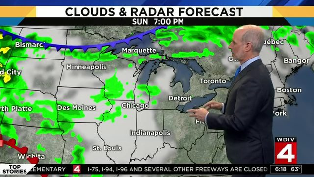 Metro Detroit weather forecast: Cloudy with low humidity Sunday