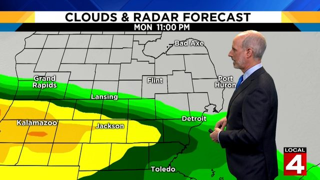 Metro Detroit weather forecast: Dry and warm Sunday with highs in the low 80s