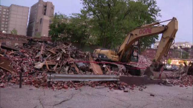 Once legendary concert venue Gold Dollar Bar demolished after suspicious fire