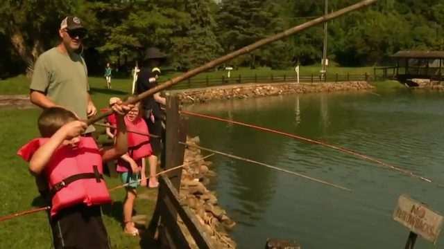Day fishing trip: Visit Spring Valley Trout Farm in Dexter