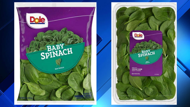 Dole issues baby spinach recall due to possible salmonella risk
