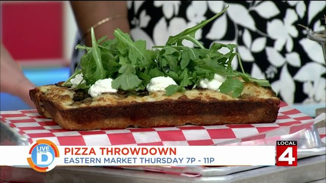 Are you ready for Pizza Throwdown in Detroit?