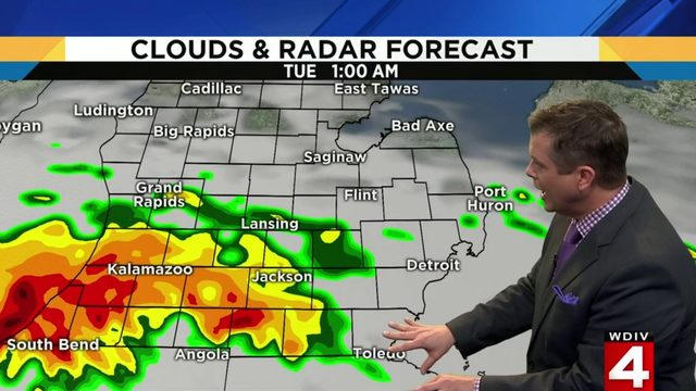 Metro Detroit weather: Heavy rain on the way with flooding risk