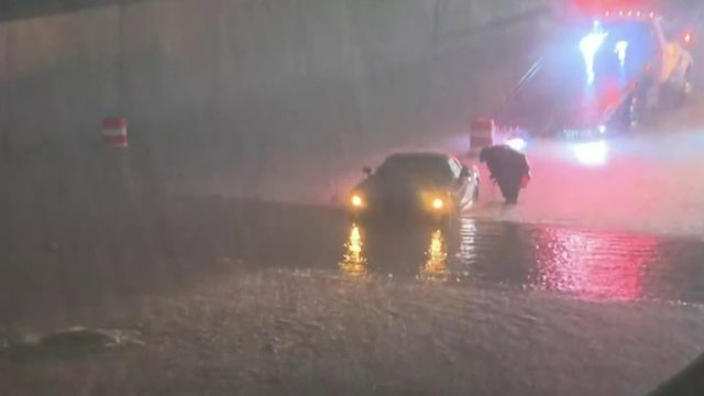 Heavy overnight rain floods parts of Macomb County