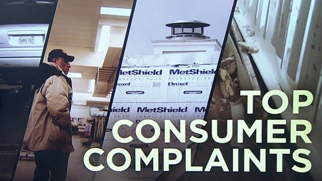 Help Me Hank: A look at the top 10 consumer complaints