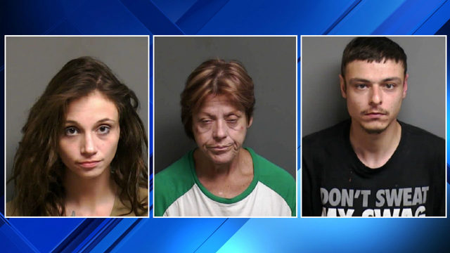 Police: 3 arrested for fake checks that look like those given to…