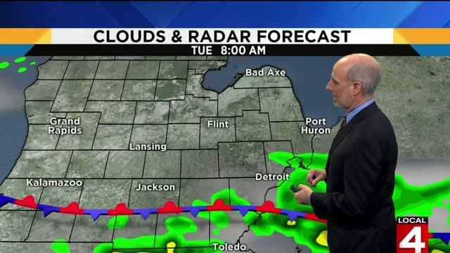 Metro Detroit weather forecast: Some more rain expected Tuesday