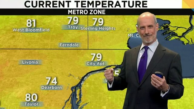 Metro Detroit weather: What a day!