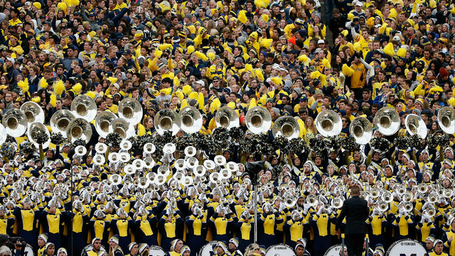 Michigan's 'The Victors' named best fight song in college football history