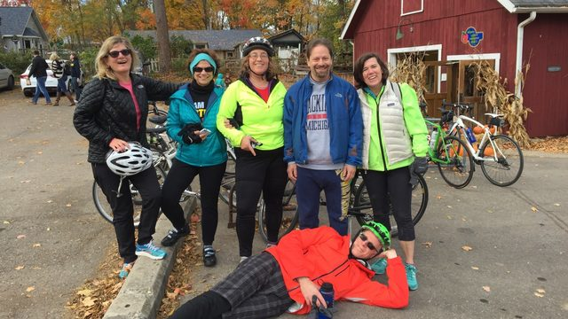 Bike from East Lansing to Ann Arbor during eighth annual Rivalry Ride on…