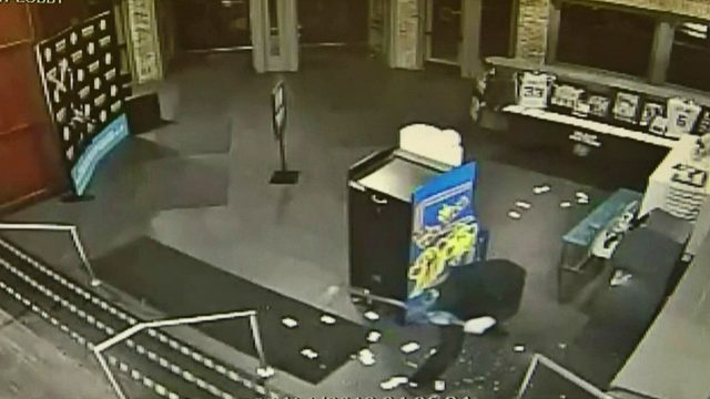 Man uses sledgehammer to break into Utica Dave & Buster's, steals…