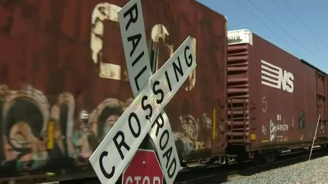 Woodhaven officials hope cameras help drivers avoid trains that block roads