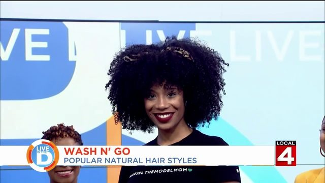 Here's how to get that fab look with your natural hair