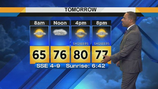 Metro Detroit weather: Warm Thursday evening with chance of scattered storms