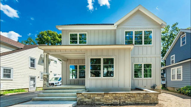Stunning brand-new build in Ann Arbor's Burns Park hits the market