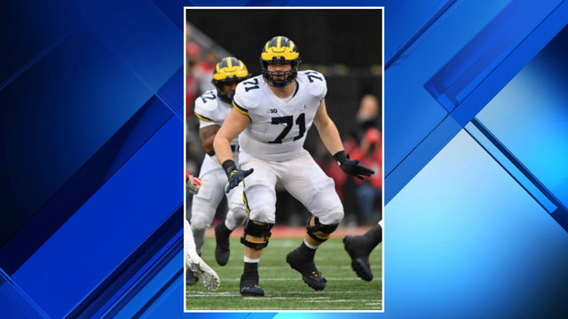 Michigan football loses potential starting right tackle Andrew Stueber…