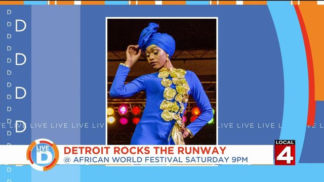 Explore the beauty of African designs at Detroit Rocks The Runway at the…