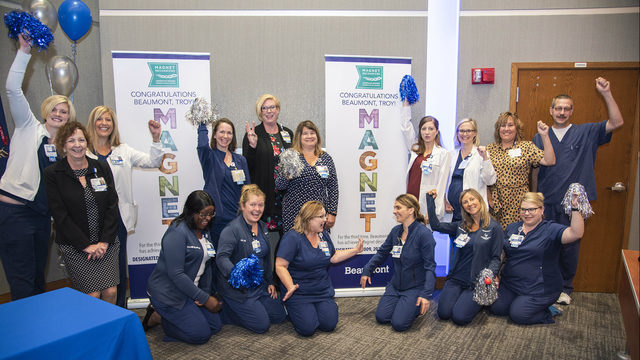 Nurses at Beaumont Hospital in Troy recognized for excellence