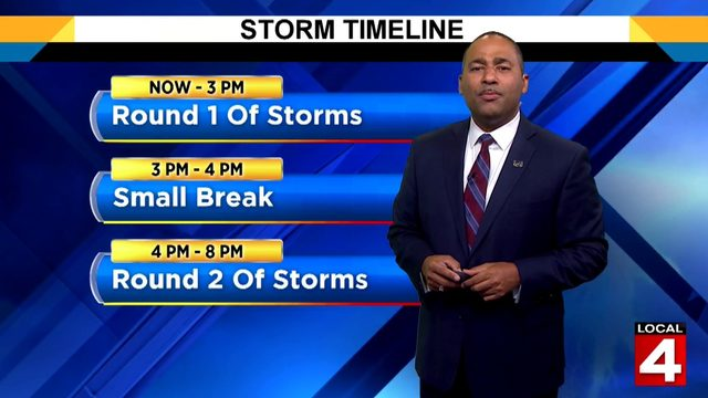Metro Detroit weather: Stormy Sunday afternoon as temps soar