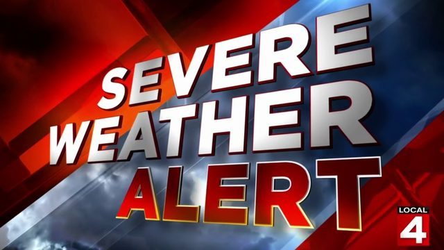 Thunderstorm warning issued for Lapeer, St. Clair and Sanilac counties