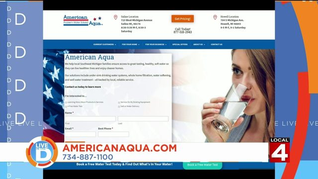 That's high quality H2O: Get clean, soft water for your home with American Aqua