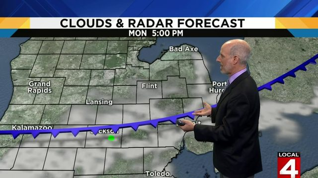 Metro Detroit weather: Steamy with a few storm chances