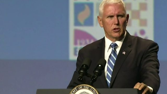 Vice President Mike Pence praises American economy at Detroit Economic Club